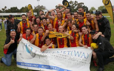 A-Reserves complete four-peat